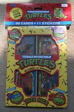 TEENAGE MUTANT NINJA TURTLES Tote Pack 88 cards 11 Stickers NEW !! 1989 Vintage
