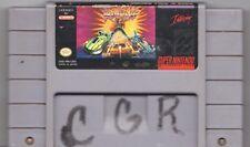 Video Game - Super Nintendo SNES ROCK N' ROLL RACING Cartridge