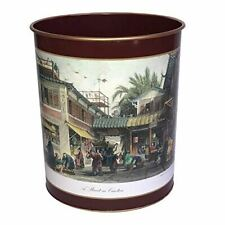 Lady Clare Waste Paper Bin Chinese Engravings