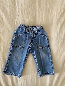 vintage little levis size 2t relaxed fit denim light wash toddler jeans