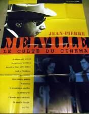 MELVILLE, LE CULTE DU CINEMA - Rétrospective AFFICHE 120x160/47x63 FRENCH POSTER
