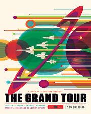 NASA SPACE GRAND TOUR JUPITER SATURN URANUS NEPTUNE 8X10 POSTER REPRO FREE S/H