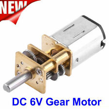 DC 6V High Torque 1:1000 Gear Box Reduction Geared Motor 10RPM US Stock