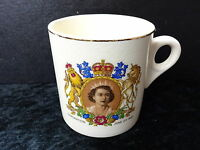 Greniville Ware Commemorative Mug - 1953 Queen Elizabeth II Coronation