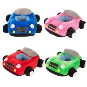 Car Sofa Soft Plush Baby Sitting Support Learning Chair Seat Cover For Kids