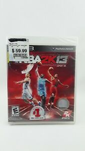 NBA 2K13 (Sony PlayStation 3, PS3, 2012) New Factory Sealed FREE SHIPPING!