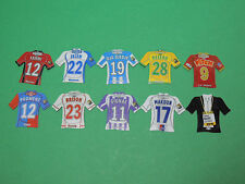 Magnet équipe diverse Just Foot Pitch 2009/2010 maillot football lot #50