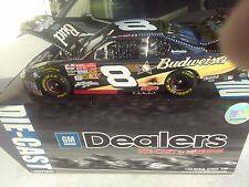 2002 Dale Jr., # 8, Budweiser, Monte Carlo 18K White Gold