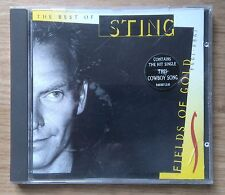 CD: STING, THE BEST OF - FIELDS OF GOLD: 1994