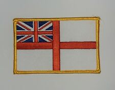 White Ensign Embroidered Badge