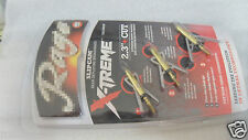 3Pcs Official Fourth Broadheads 2-Blades 100 Gr Fire Hunting Arrow Tips Box set