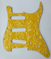 Gold Pearl Pickguard Scratch Plate for Fender Stratocaster ST Guitar Parts 3 Ply