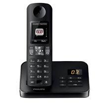 Téléphones sans fil noir Philips