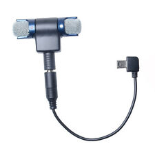 Stereo 3.5mm Mini External Microphone + Mic Adapter For GoPro Hero 4 3+3 Camera
