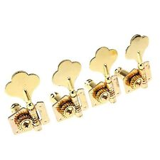 4 Pcs Lefty Gold JAZZ P BASS TUNERS FITS GUITAR TUNING PEGS