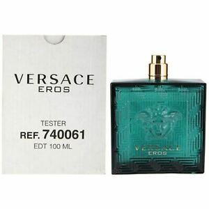 Versace Eros 100ml Eau de Toilette For Men New Without Cup