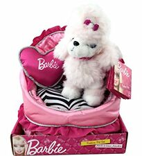 Barbie Fashion Pet Sequin the Puppy with Own Bed and Pillow Plush