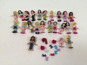 Lego Friends Minifigures Emma Mia Stephanie Olivia Naomi Matthew Lot of 22