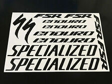 SPECIALIZED ENDURA Cycling Stickers Decals Sizes Colours Bike Frame Fork Road