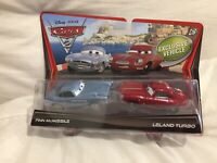 DISNEY PIXAR CARS 2 DOUBLE PACK MOVIE MOMENTS CARDED Diecast 1:55 TOKYO DRIFT