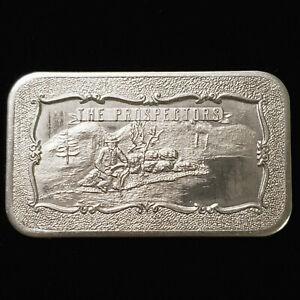 The Prospectors 1 oz 0.999 Fine Silver bar - Mother Lode Mint - No Reserve
