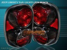 2002-2007 JEEP LIBERTY ALTEZZA TAIL LIGHTS BLACK 2003