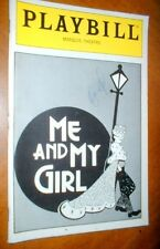 ME AND MY GIRL  L A Rose Furber PLAYBILL Signed Connell