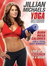 """Jillian Michaels - Yoga Meltdown DVD fans of """"30 Day Shred"""" R2 New & Sealed"""
