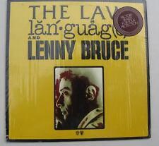 1974 Lenny Bruce, The Law, Language, SP9101, MINT! LP