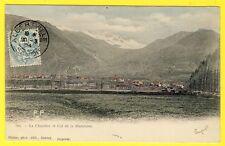 cpa 73 - VILLAGE de LA CHAMBRE (Savoie) et COL de la MADELEINE Montagne Dos 1900