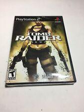 Tomb Raider: Underworld (Sony PlayStation 2, Ps2 2009) - New, Sealed