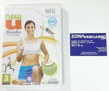 New U Fitness First Personal Trainer, Nintendo Wii, Pal-Esp. Nuevo.