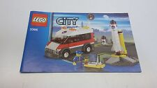 LEGO CITY !! INSTRUCTIONS ONLY !! FOR 3366 SATELLITE LAUNCH PAD