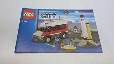 Lego City!!! Instrucciones Solamente!!! Para 3366 satélite pad de inicio