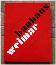 Buch Bauhaus Weimar Michael Siebenbrodt Hatje Cantz Verlag NEU noch in Folie!