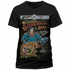 Unbranded Solid Basic Tees Superman T-Shirts for Men
