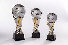 3er Serie Fußball Weltpokale aus Keramik (Weltpokal Jugend Pokale Sieger)