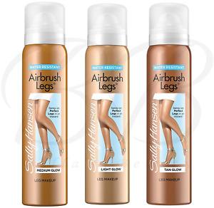 SALLY HANSEN Airbrush Legs Water Resistant Instant Spray On Tan *CHOOSE SHADE*