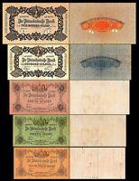2x  25, 40, 60, 100, 200 Gulden - Ausgabe 1904 - 1924 - Reproduktion - 013