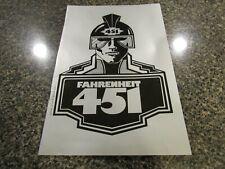 Fahrenheit 451 program play 1979 vintage signed Ray Bradbury world premiere