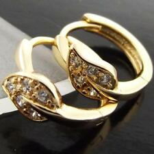 Mixed Metals Simulated Yellow Gold Filled Fashion Earrings