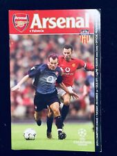 The official Arsenal Magazine :Golden Era of Henry,Beckham,Vingar 2003/04 rare!