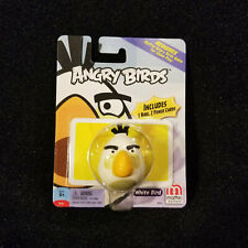 Angry Birds WHITE BIRD Figure 2 Power Cards Game Extra Replacement Piece Mattel