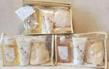 3 Vintage Sarah Michaels Milk & Honey Bubble Bath Body Lotion Gift Set Lot