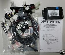 Toyota Kluger Reverse Parking Sensors 4 Head Kit Silver GENUINE NEW