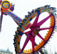 24 Person Amusment Theme Park Rides Carnival Rotation Thrill Flying Chairs Park