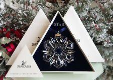 1999 *Mib* Swarovski Annual Large Christmas Ornament Star Snowflake #235913