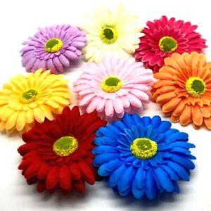 Hair Flower Daisy Sunflower Hair Clip Slide Festival Fascinator UK SELLER