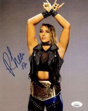 More details for jsa authenticated rhea ripley promo - autographed wrestling nxt wwe uk belt