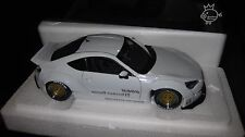 AUTOART 1.18 ROCKET BUNNY TOYOTA 86  WHITE/GOLD WHEELS AWESOME LOOKING CAR 78756